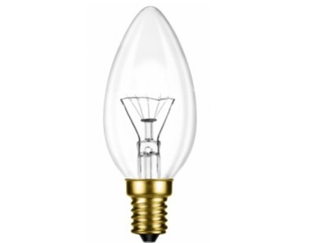 Candle Clear E14 60W 230V G45 ZEXT лампочка